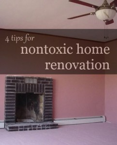 nontoxichomerenovate 242x300 4 Tips for Nontoxic Home Renovation