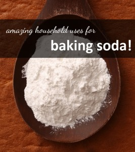 bakingsoda 267x300 Household Uses for Baking Soda