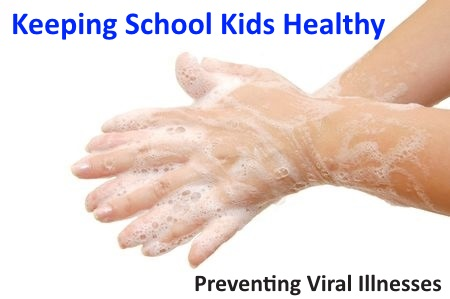 how to avoid getting the flu at school